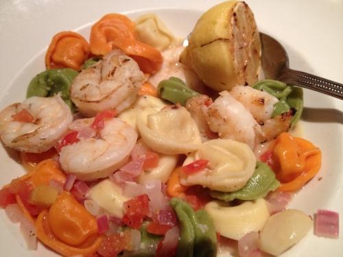 Shrimp and Tortelini