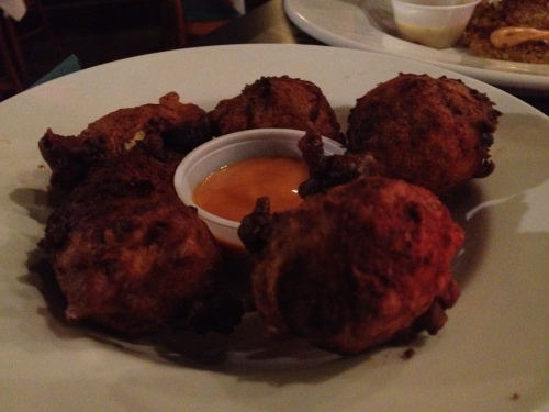 Blue Lagoon Conch Fritters