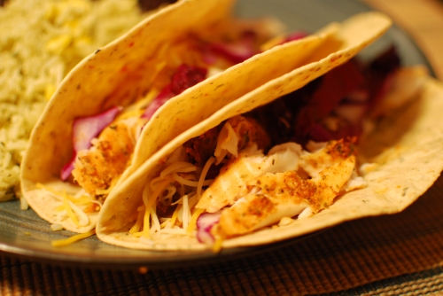 Home Fish Tacos 2