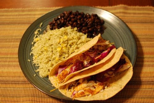 Home Fish Tacos