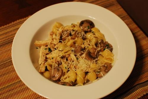 Mushroom Orechetti 1