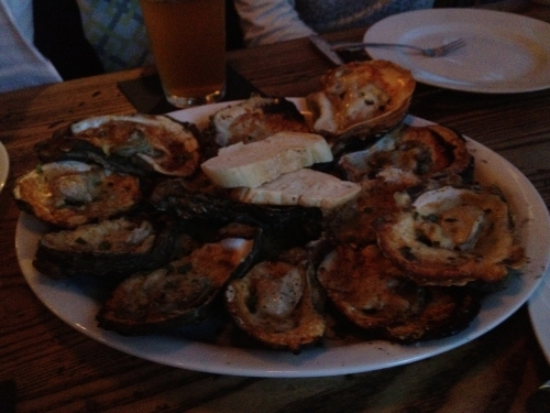 Copperfish - Grilled Gulf Oysters