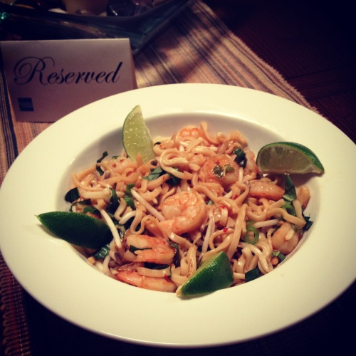 Shrimp Pad Thai 1