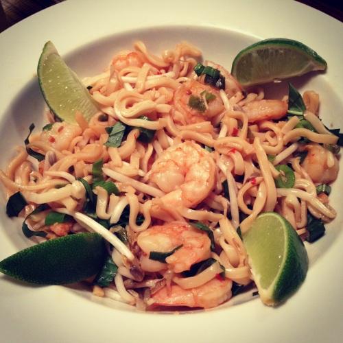 Shrimp Pad Thai 2