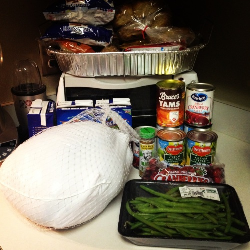 Turkey Day 2013 Prep