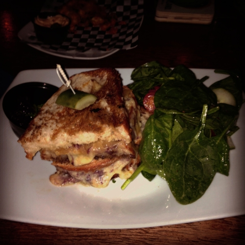 Mermaid Tavern - Drunken Grilled Cheese