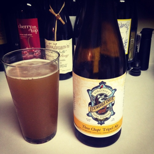Lickinghole Creek Tripel Ale