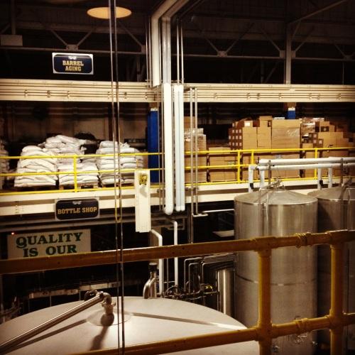 Two Roads Brewery Floor