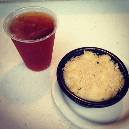 Epcot Food and Wine - Lobster Alfredo Pie and Octoberfest