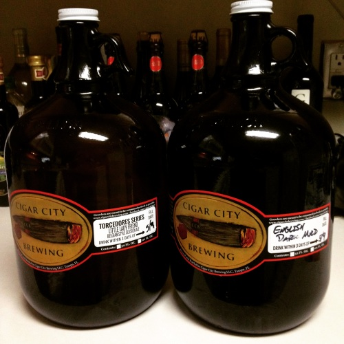 Cigar City Growlers