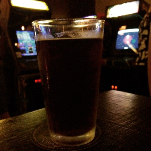 Rogue Hazelnut Ale at Barcade