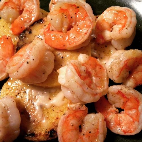 Shrimp & Polenta