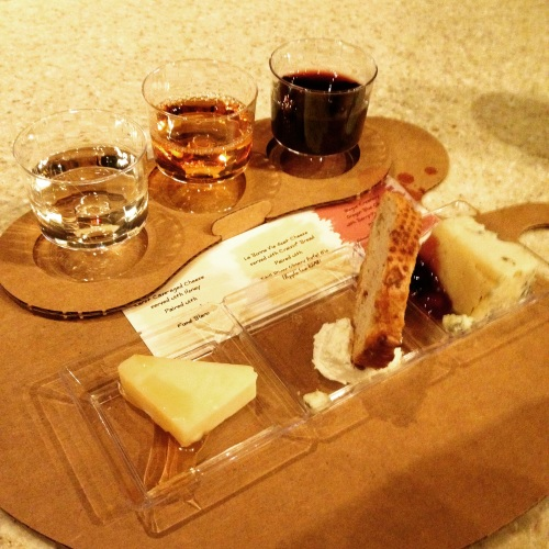 Wine and Cheese Sampler