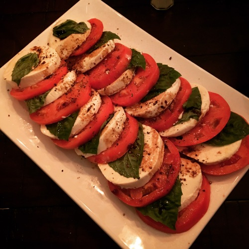 tomato-and-mozzarella-caprese