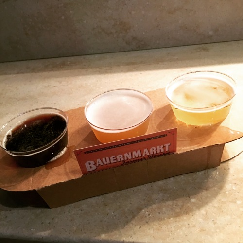 German Beer Flight